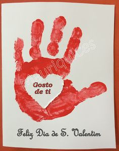 Mauriquices: Feliz Dia de S. Valentim! Valentine Crafts For Kids, Valentines Day, Infant Activities, Fun Activities, Special Day, Big Day, Fathers Day, Diy And Crafts, Happy