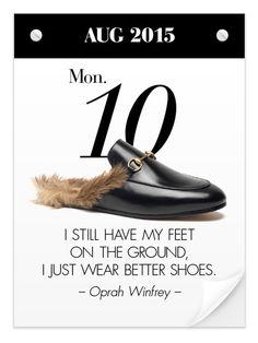 Gucci 2015-16AW fur slip-on