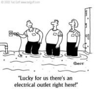 Yeah Lucky Electricity Humor