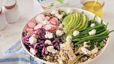 Créatifs avec Boursin ® Frittata, Cobb Salad, Quinoa Salad, Cucumber, Salads