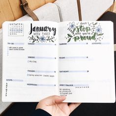 Ultimate List of Bullet Journal Ideas: 101 Inspiring Concepts to Try Today (Part - Simple Life of a Lady Looking for bullet journal page ideas to try? Here's a list that is guaranteed to inspire your next entry and give more life to your Bujo! List Of Bullet Journal Pages, January Bullet Journal, Bullet Journal Spread, Bullet Journal Inspo, Bullet Journal Layout, My Journal, Bullet Journal 2019 Calendar, Bullet Journal Water Tracker, Back To School Bullet Journal