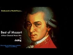 6 Hour Mozart Piano Classical Music Studying Playlist Mix by JaBig Great Beautiful Long Pieces Good Music, My Music, Om Mantra, Amadeus Mozart, Music For Studying, Jazz, Meditation, Motivational Words, Wedding Music