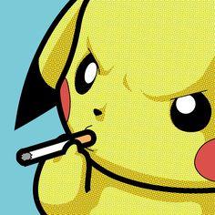 Jaded, The Secret Life Of Heroes by Grégoire Guillemin - #pokemon #pikachu