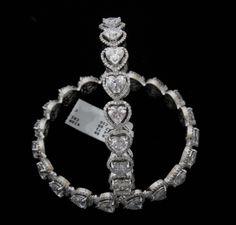 1ctr heart shape bangles