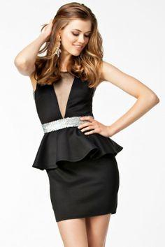 $13.99 NEW! Stunning Black Polyester Sheath Mini Sexy Style Day To Night Dress
