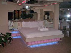 Sybaris....esp the romantic bed :)