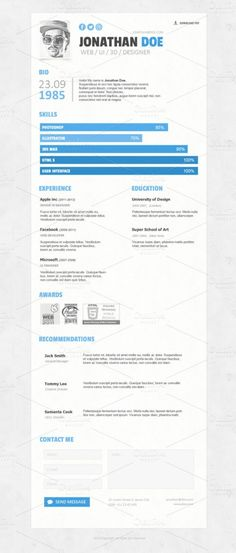 The 25 Most Creative Designer Resumes Youu0027ll See This Year - ui designer resume