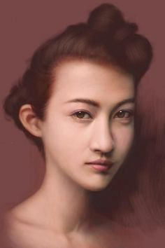 Japanese artist Seikou Yamaoka uses a $2.99 application called ArtStudio, and his fingertips to create incredible-looking portraits on his iPod Touch and iPad. And he does it all during a long train commute.
