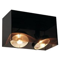 Acrylbox Big 2 Light Flush Light Buy this and much more home & living products at http://www.woonio.co.uk/p/acrylbox-big-2-light-flush-light/