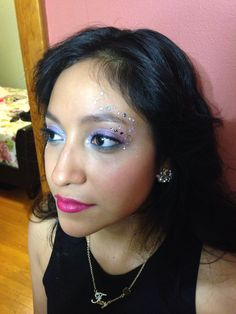 Rave makeup! Rave Makeup, Rave Outfits, Wild Child, Out Of Style, Repeat, Sleep, Hair, Strengthen Hair