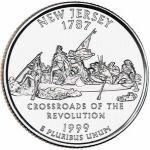 25 Cents / Quarter (New Jersey)