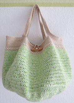 Bolsa Mesclada em Crochê -   /    Merged Bag in Crochet -