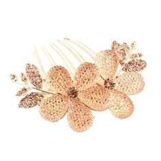 Sunward Fashion Women Girl Rhinestone Flower Tuck Comb Hair Fork Hair Accessory *** You can find more details by visiting the image link.