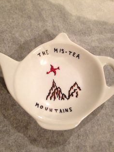 Hobbit Lord of the Rings Mis-tea Mountains Tea Bag Tidy O Hobbit, Hobbit Humor, J. R. R. Tolkien, Into The West, Legolas, One Ring, Geek Out, Middle Earth, Lotr