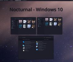 Nocturnal W10 by decagonal.deviantart.com on @DeviantArt
