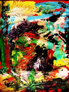 "Saatchi Art Artist Irish Rainbeau; Painting, ""ASCENSION - part 2"" #art"