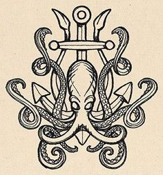 Release the Kraken   Urban Threads: Unique and Awesome Embroidery Designs: