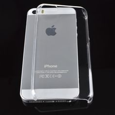 Protective Plastic Hard Case for iPhone 5S (Clear) #ipohone #plastic #hard #case #clear