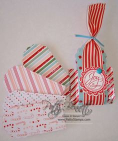 Stampin' Up!  Two Tags  Patty Bennett