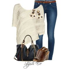 Stylish Eve, jeans outfit!