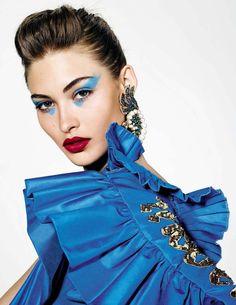 Publication: Vogue Spain May 2017 Model: Grace Elizabeth, Riley Montana Photographer: Richard Burbridge Fashion Editor: Juan Cebrian Hair: Orlando Pita Make Up: Tom Pecheux
