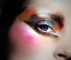 Make-up artist Ellis Faas - Human Colours illustration