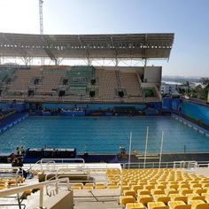 Olympics Green Pool Back to Normal Just in Time For Synchronized Swimming #Sports  Olympics Green Pool Back to Normal Just in Time For Synchronized Swimming Nearly 1 million gallons of clean water were pumped into the pool to clear it up