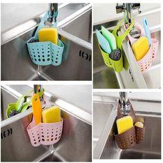 1 8 Watch Now New Develop Sink Storage Dish Drying Rack Holder Drainer Kitchen Bathroom