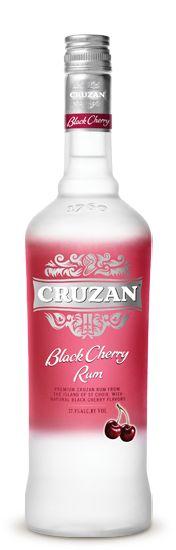 Cruzan Rum - Black Cherry.  One of my FAVS!!   Great in Coke for a Cherry Coke taste!!