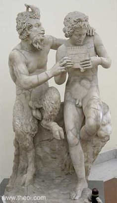 Pan and Daphnis - Greek Mythology