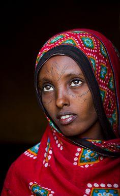 Africa | Afar woman. Asayta, Ethiopia | © Eric Lafforgue