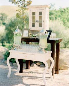 Ceremony beverage station