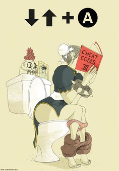 Chun-Li likes cheats – Illustration by Cristian Ortiz