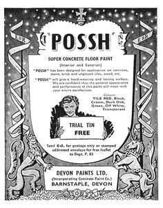 Possh paint. And I thought that was Papers and Paints - http://www.sarahberrydesign.com/moodboard/2011/03/10/posh-paint/