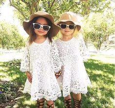 Chloe Dress - This bohemian dream dress has endless charm. Gorgeous all-over floral lace makes this a top choice. Cute Little Girls Outfits, Little Girl Fashion, Kids Outfits, Fashion Kids, Crochet Summer Dresses, Lace Party Dresses, Lace Dress, Baby Girl Princess, My Baby Girl