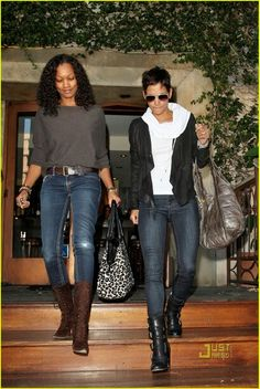 Garcelle Beauvais and Halle Berry