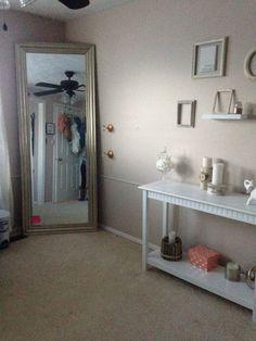 My new room 3 valspar paint sand storm all white decor 3