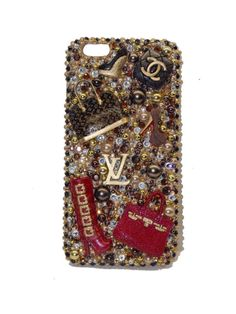 iPhone 5S/5C/6/6Plus Samsung Galaxy S4/S5/S6 by TLCoutureDesigns