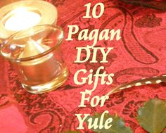 « 12-12-12 Voodoo Universe A Year In Photos, 10 Pagan DIY Gifts For Yule December 15, 2014 by Lilith Dorsey,  Leave a Comment, 'Tis the season not to drown under the rampant consumerism of Yule. Celebrating those you love shouldn't have to involve spending loads of money. There are plenty of easy do it yourself gifts you can make this time of year. Most of these will take little to no investment and you might even have some of these ingredients and materials already on your ...