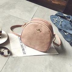Paige Distressed Leather Mini Crossbody Bag - 6 Colors