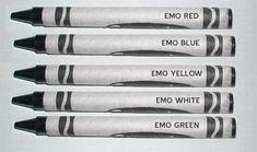 Emo Crayons