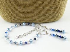 Everyday Elegance Shades of Sapphire three piece by OklahomaMama, $40.00