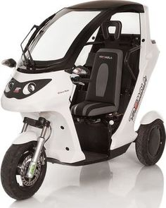 Electric Cargo Bike, Electric Tricycle, Cube Car, Small Electric Cars, Tricycle Bike, Reverse Trike, Futuristic Cars, Pedal Cars, Cool Bicycles