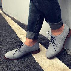 Men's Vintage British Style Low To Help Casual Shoes – ChicMay Mens Suit Accessories, Shoe Image, Gents Fashion, Latest Mens Fashion, British Style, Types Of Shoes, Shoe Brands, Types Of Fashion Styles, Men's Vintage