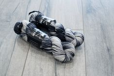 Worsted weight merino yarn. 100% Superwash Merino. Sweater weight yarn. Medium Weight yarn. Moo. Multicolored black and white yarn. by blackcatcustomyarn on Etsy https://www.etsy.com/listing/581888605/worsted-weight-merino-yarn-100-superwash