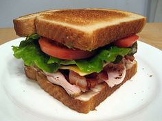 Turkey Bacon Avocado Sandwich Slow Cooked Meals, Freezer Meals, Munster Cheese, Bacon Avocado, Turkey Bacon, Suppers, Deli, Allrecipes, Slow Cooker