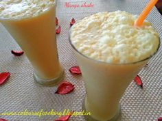 "It is mango shake. Chilled drink made out of mangoes & milk as the main ingredient. It is a healthy drink rich with ""mineral and vitamins"" and is a hit during summer time."
