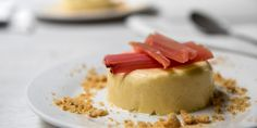 Victoria's on hand to show how forced rhubarb can lift our collective spirit in January. Banish any winter blues with this delicious rhubarb and custard panna cotta recipe.