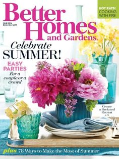 #Better Homes and Gardens Magazine ISSUE PER YEAR:12 Issues a year COUNTRY:USA TYPE:Magazine CATEGORY: Garden,Home & Living CONDITION:New IMPORTED VIA:Air