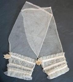 net and ribbon undersleeves from ebay